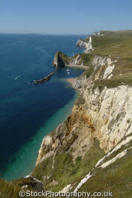 durdle door dorset. coastline great natural beauty. uk coastal environmental chalk cliffs dorset england english britain united kingdom british