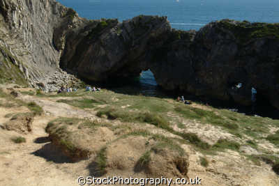 stair hole dorset uk coastline coastal environmental england english great britain united kingdom british