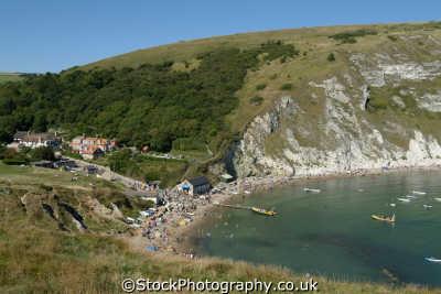 lulworth cove dorset uk coastline coastal environmental england english great britain united kingdom british