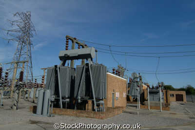 electricity distribution substation transformer energy electrical science misc. high voltage dorset england english great britain united kingdom british