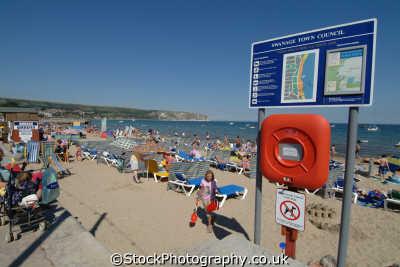 swanage beach british beaches coastal coastline shoreline uk environmental purbeck dorset england english great britain united kingdom