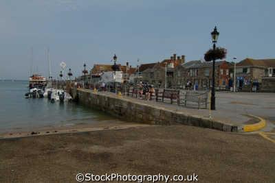 yarmouth harbour uk towns environmental harbor isle wight england english great britain united kingdom british