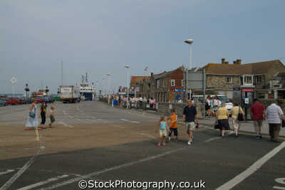 yarmouth harbour uk towns environmental harbor isle wight england english great britain united kingdom british