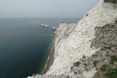 isle wight needles uk coastline coastal environmental england english great britain united kingdom british
