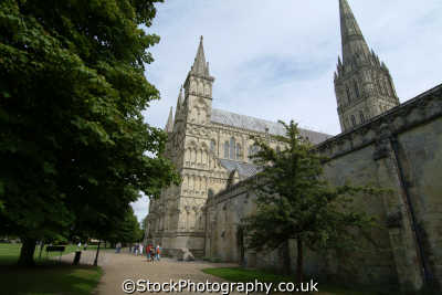 salisbury cathedral uk cathedrals worship religion christian british architecture architectural buildings wiltshire wilts england english great britain united kingdom