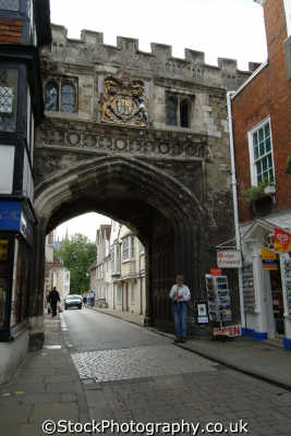 salisbury high street gate historical uk buildings history british architecture architectural wiltshire wilts england english great britain united kingdom