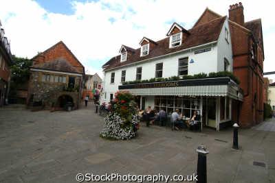 salisbury st. thamas square uk towns environmental wiltshire wilts england english great britain united kingdom british