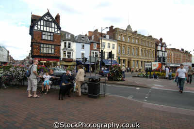 salisbury blue boar row uk towns environmental wiltshire wilts england english great britain united kingdom british