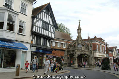salisbury poultry cross uk towns environmental wiltshire wilts england english great britain united kingdom british