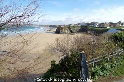 newquay great west beach winter british beaches coastal coastline shoreline uk environmental cornish cornwall england english britain united kingdom