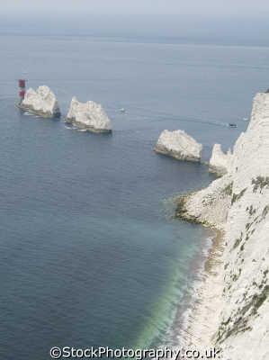 needles isle wight uk coastline coastal environmental england english great britain united kingdom british