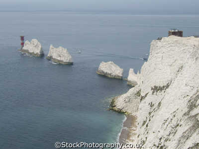 needles isle wight uk coastline coastal environmental england english great britain united kingdom british