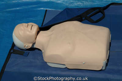 resusci annie cpr dummy for demonstration of mouth to mouth