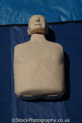 resusci annie cpr dummy demonstration mouth resuscitation ambulance service medical nhs healthcare uk emergency services aid training manikin cornwall cornish england english great britain united kingdom british