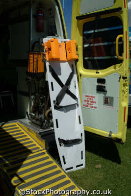 board stretcher uk ambulance service medical nhs healthcare emergency services cornwall cornish england english great britain united kingdom british