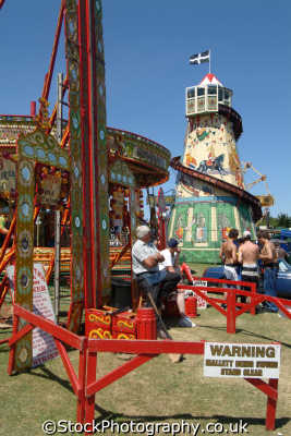 fairground helter skelter carnival fairs leisure uk cornwall cornish england english great britain united kingdom british