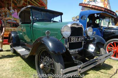 ford model circa 1929 british classic cars vintage motor automobiles transport transportation uk cornwall cornish england english great britain united kingdom