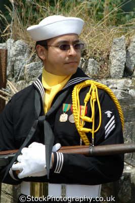american sailor cremonial duties british army armies uk military militaries cornwall cornish england english great britain united kingdom