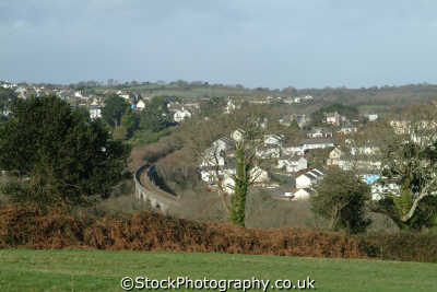 view penryn cornwall south west towns england southwest country english uk cornish great britain united kingdom british