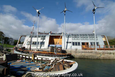 solar wind powered ecological building penryn cornwall energy electrical science misc. falmouth cornish england english great britain united kingdom british