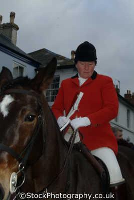lady hunter fox hunting blood banned sports sporting uk huntress helston cornwall cornish england english great britain united kingdom british