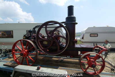hornsby portable oil engine 6hp 1918 steam engines transport transportation uk cornwall cornish england english great britain united kingdom british