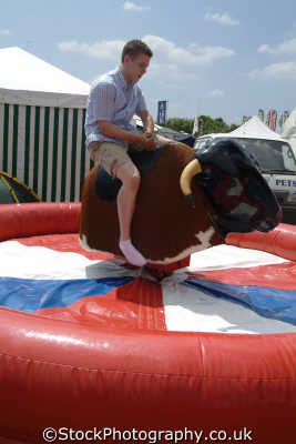 bucking bronco extreme sports adrenaline sporting uk riding bull cornwall cornish england english great britain united kingdom british