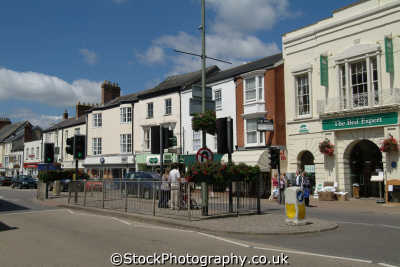honiton devon high street south west england southwest country english uk devonian great britain united kingdom british
