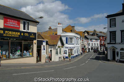lyme regis dorset church street south west towns england southwest country english uk great britain united kingdom british