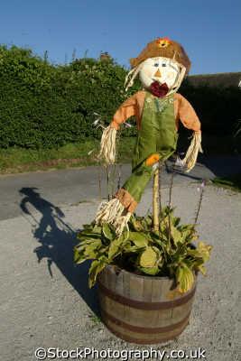 scarecrow dummies abstracts misc. pagan cornwall cornish england english great britain united kingdom british