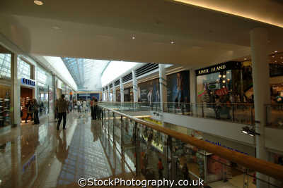 plymouth devon drakes circus shopping centre interior uk centres retailers trade centers commercial buildings british architecture architectural devonian england english great britain united kingdom
