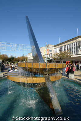 plymouth devon sundial armada way south west england southwest country english uk time solar devonian great britain united kingdom british