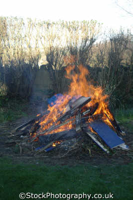 bonfire agriculture farming natural history nature misc. conflagration incinerate cornwall cornish england english great britain united kingdom british