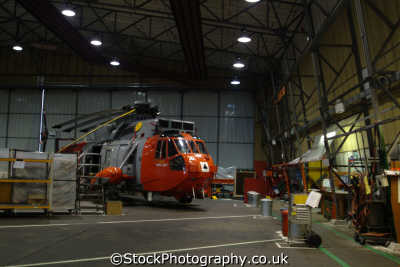 royal navy rescue sea king helicopter. hanger naval navies uk military militaries cornwall cornish england english great britain united kingdom british