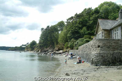 durgan beach helford river british beaches coastal coastline shoreline uk environmental cornwall cornish england english great britain united kingdom