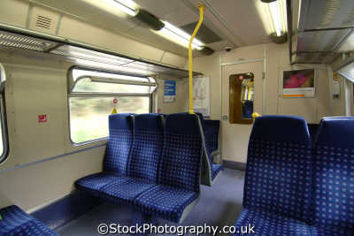 interior west anglia great northern railway wagn train trains railways rail railroads transport transportation uk hertfordshire herts england english britain united kingdom british