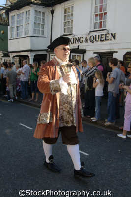 town crier highworth costumes costumed people persons wiltshire wilts england english great britain united kingdom british
