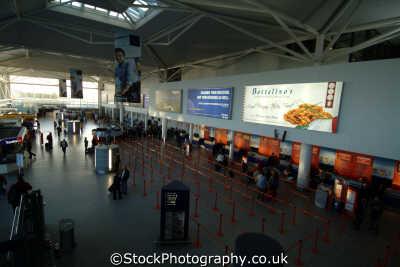 bristol airport main passenger terminal interior uk airports aviation airfield aircraft transport transportation avon england english great britain united kingdom british