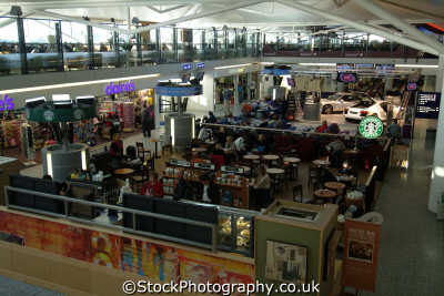 bristol airport main passenger terminal interior air uk airports aviation airfield aircraft transport transportation avon england english great britain united kingdom british