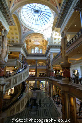 forum shops caesars palace. entrance las vegas american yankee travel gambling gamblers nevada usa united states america
