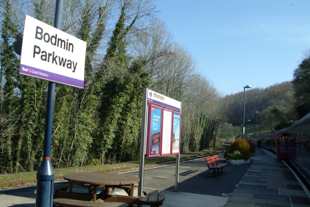bodmin parkway station uk railway stations railways railroads transport transportation cornwall cornish england english great britain united kingdom british