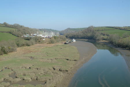 creek river tiddy uk rivers waterways countryside rural environmental estuary estuarine cornwall cornish england english great britain united kingdom british