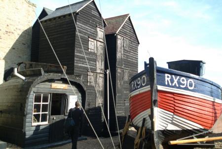 net sheds fishermans museum hastings british unusual buildings strange wierd sussex home counties england english angleterre inghilterra inglaterra united kingdom