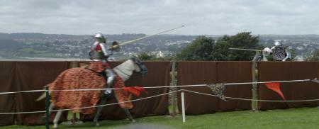 knights charge historical britain history science joust falmouth cornwall cornish england english angleterre inghilterra inglaterra united kingdom british