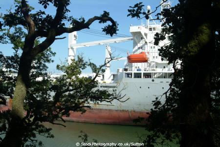 mothballed ships river fal cornwall cornish england english angleterre inghilterra inglaterra united kingdom british