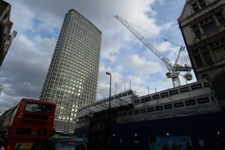 centre point cranes famous sights london capital england english cockney angleterre inghilterra inglaterra united kingdom british