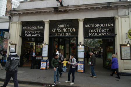 south kensington station tube underground metro buildings architecture london capital england english united kingdom british