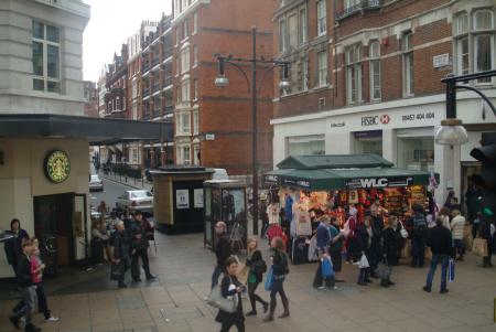 hsbc north row oxford street london w1 famous streets capital england english united kingdom british