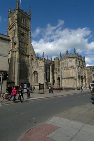parish church market place cirencester midlands towns england english gloucestershire angleterre inghilterra inglaterra united kingdom british