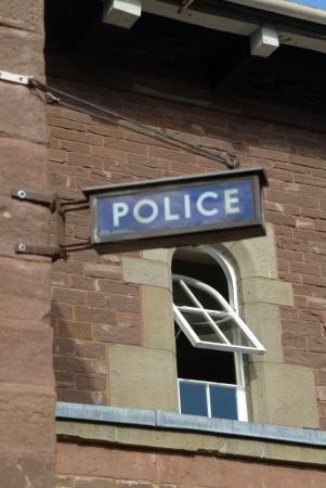 police sign cops uk emergency services united kingdom british
